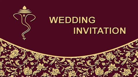 How to create Wedding Invitation Card Front Page in