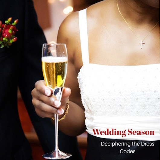 How to Decipher Wedding Season Dress Codes