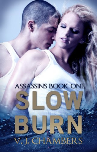 Slow Burn (Assassins) by V. J. Chambers