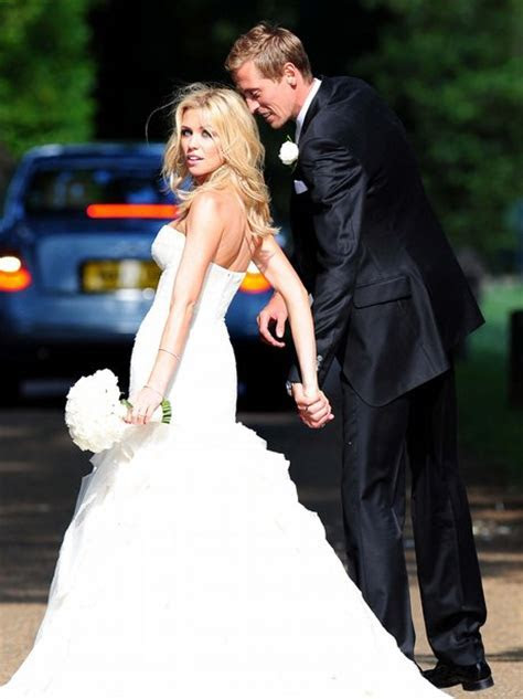 Peter Crouch and Abbey Clancy's wedding   Heart