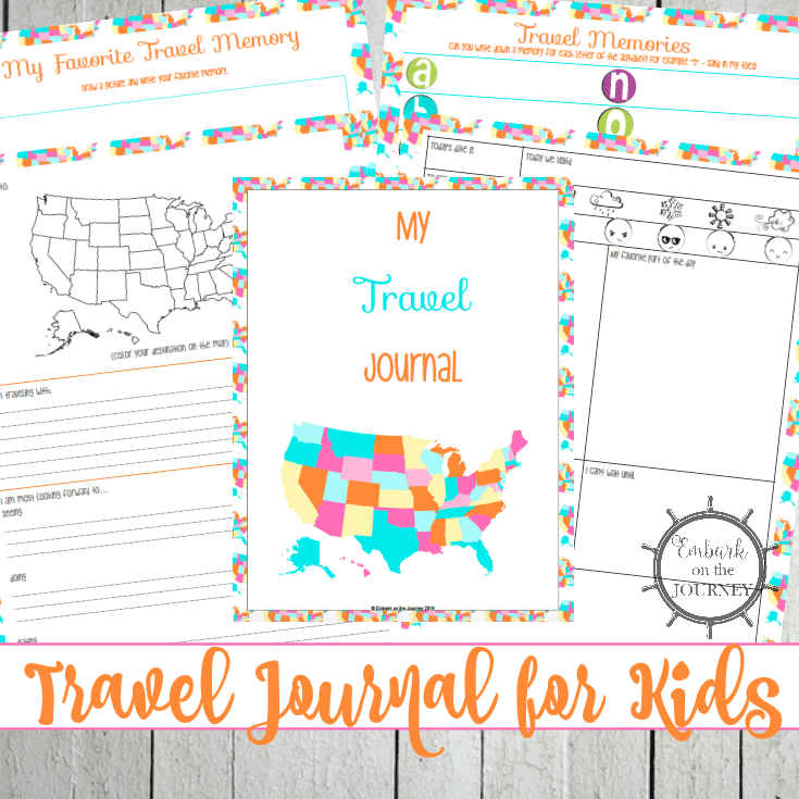 A Free Printable Travel Journal for Kids - Homeschool ...