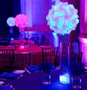 Zigsaw Iq Ze Puzzle Led Centerpieces Led Wedding Decor Led