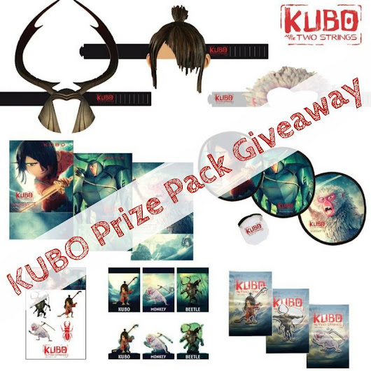 KUBO and the Two Strings Promo Pack Giveaway!!!