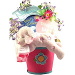 Gift Basket Drop Shipping SWDR Sweet Dreams, Baby Gift Basket, Pink