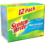 Scotch-Brite Non-Scratch Scrub Sponge - 12pk, Size: 12 Pk, Blue