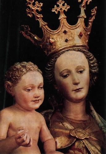 Gotische Madonna in der Kirche Maria Schöndorf, Vöcklabruck