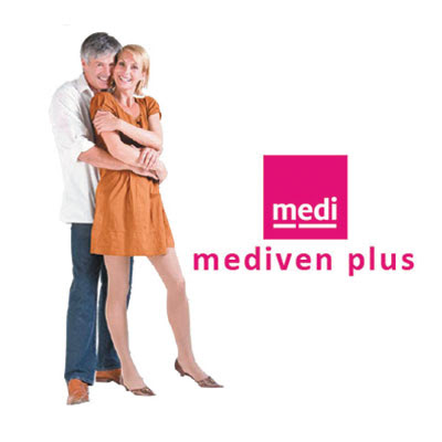 Meias de compressão MEDIVEN PLUS