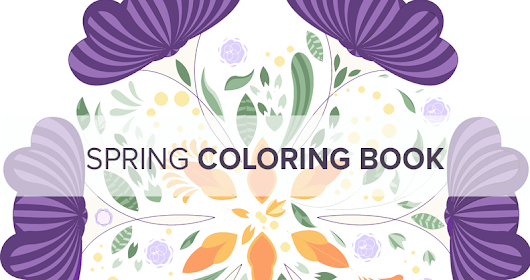 Our Spring Coloring Book—13 Stock Vectors That Turn Winter into Spring