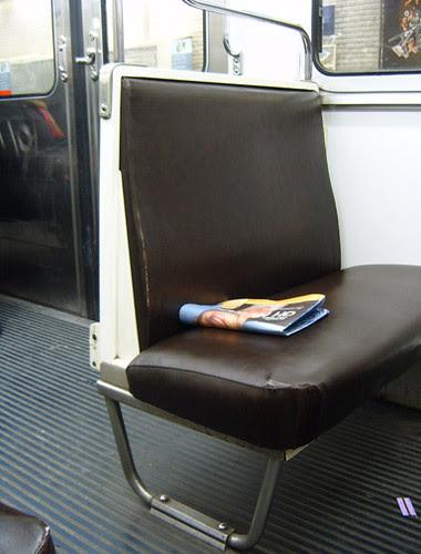 Paris Metro Seat