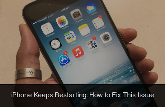 How to Fix iPhone Keeps Restarting