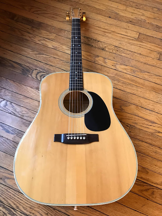 1979 Takamine F-350M with OHSC Martin D-60 Clone FREE SHIP