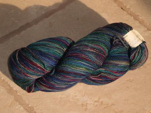 Pucker Brush Farms Superwash sock yarn
