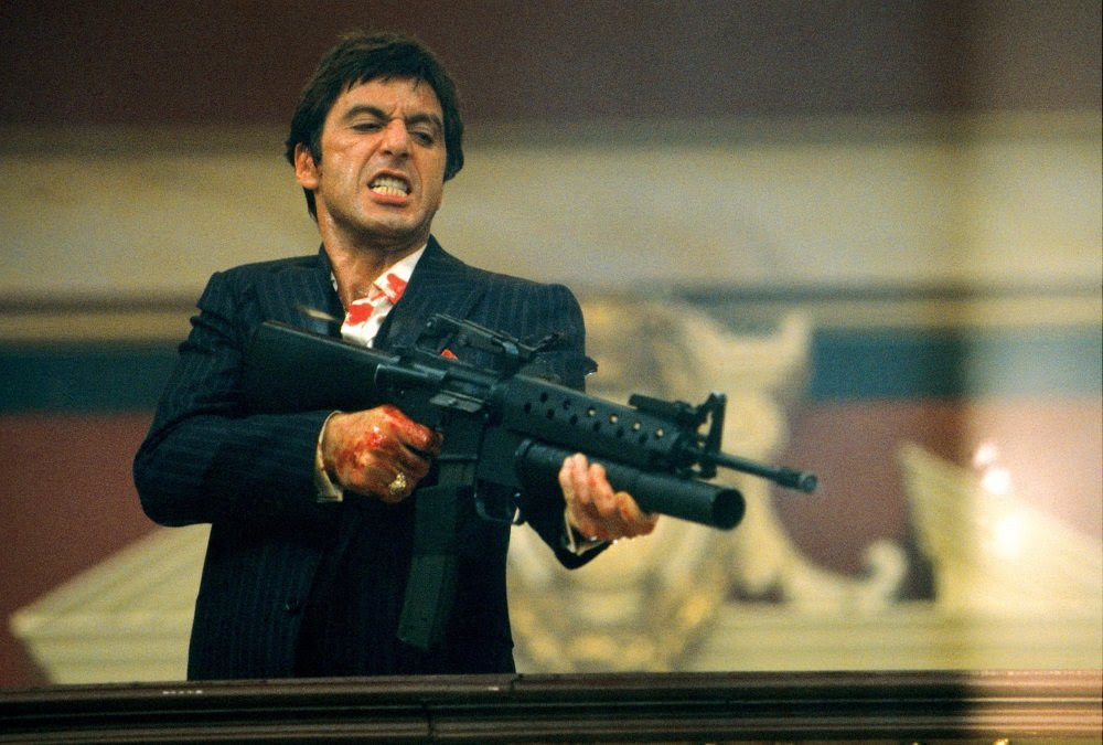 Scarface Say Hello To My Little Friend On Netflix Stream On Demand