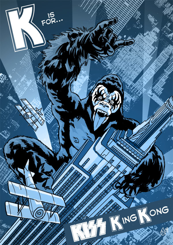 K is for... KISS KING KONG