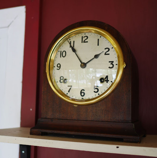 Arthur Pequegnat Bedford – bringing a handsome mantel clock back to life – Part I
