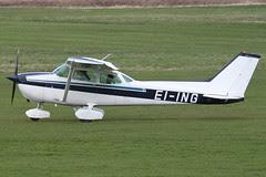 EI-ING - 1981 Reims built Cessna 172P Skyhawk, departing from Barton after a brief visit