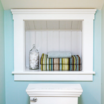 Built-Ins: Storage Niche   How to Design a Cozy Cottage-Style