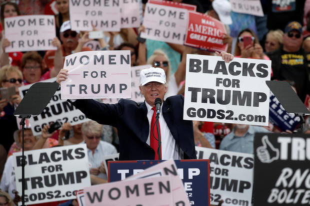 Image result for blacks for trump signs