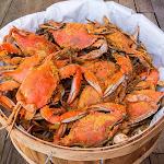 Maryland Blue Crabs - Half a Dozen Females Sook Steamed