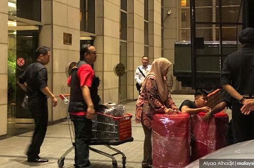 Wang tunai dirampas di Pavilion Residences berjumlah RM120 juta