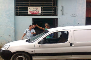 Comedor público de la calle Vives  entre Aguilera y Puerta Cerrada,  Habana Vieja_foto de Manuel Alberto Morejón