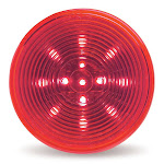 "Grote G1032 Clr/Mkr Lamp, 2.5"", Red, Hi Count Led(13 Diode)"