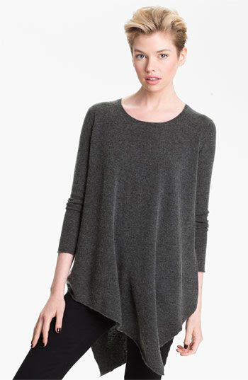 Long tunic to wear with leggins and skinny jeans...Joie 'Tambrei' Asymmetric Sweater Tunic | Nordstrom