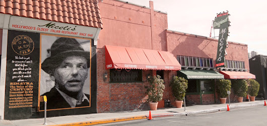Sinatra's Los Angeles Landmarks - The Vintage Cameo