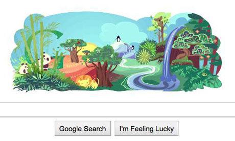 earth day 2011 google. Happy Earth Day