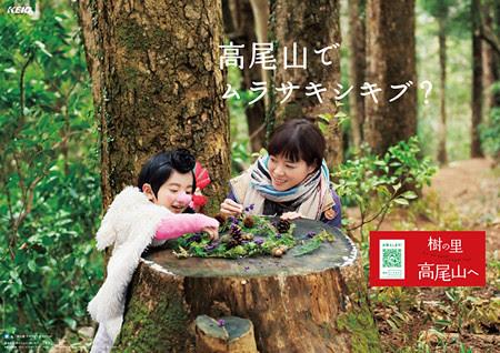 京王电鉄 樹の里 高尾山へ 12月份新圖