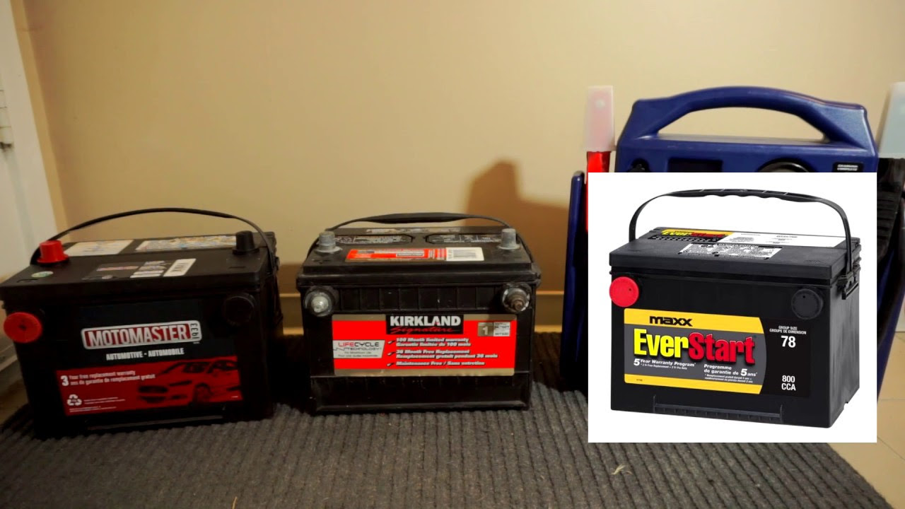 Budget Automotive Batteries Costco Walmart Canadian