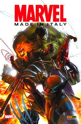 Marvel made in Italy: cover, disegni di Giuseppe Camuncoli e dipinti di Gabriele Dell'Otto