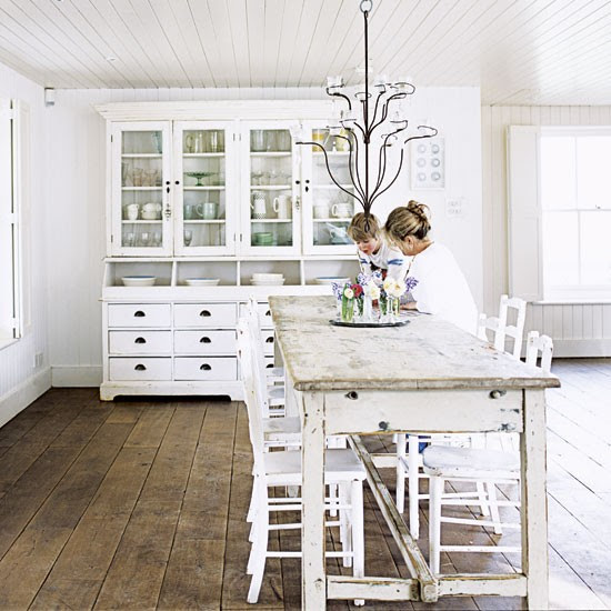 Dining room | All-white extended cottage | Real Home | Livingetc house tour | PHOTO GALLERY | Housetohome