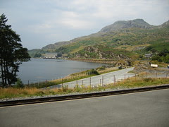 Llyn Ystradau Reservoir