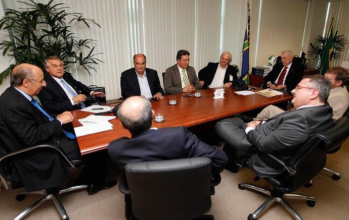 reunião dirigentes CBF (Foto: Rafael Ribeiro / CBF)