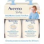 Brand New Aveeno Baby Daily Moisture Lotion 2 pk./18 fl.oz. 102768