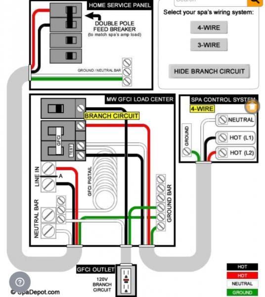 Hot Tub 4 Wiring Diagram 220 - Wiring Diagram