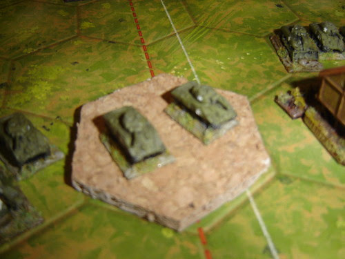 American armour annihilates Japanese left, but infantry hold out in warehouse - Battle of Phosphate Plant