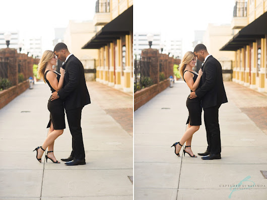 Kathleen & Cullen | Downtown Orlando Engagement | Orlando Wedding Photographer
