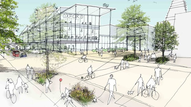 An artist's impression of what the development could look like