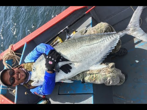Giant Trevally Fishing 2017 - GT Popping Expidition - Revisited