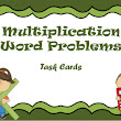Multiplication Word Problems - Task Cards for Grade 3
