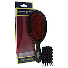 Mason Pearson B1 Extra Large Bristle Brush, Dark Ruby