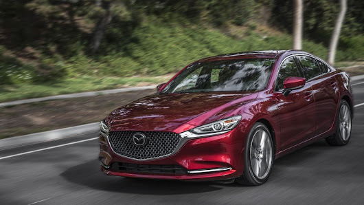 The Mazda 6 has a heads-up display that will rock your world