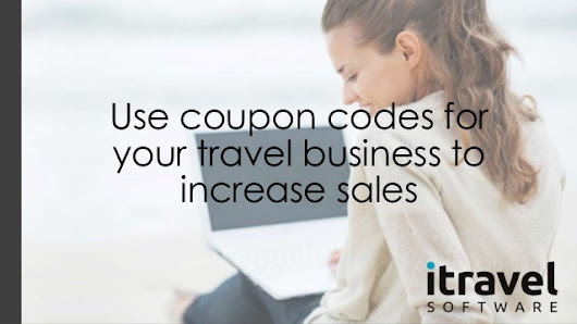Use coupon codes for your travel business to increase sales