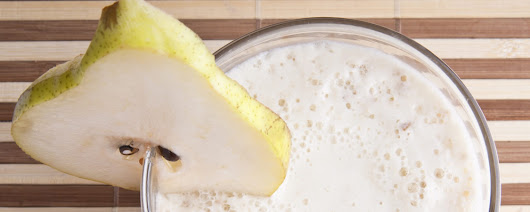 Cinnamon Pear Smoothie - Probiotic Series - The IC Diet Project