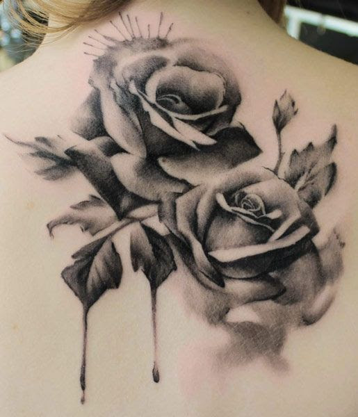 Free Rose Tattoo Black And White Download Free Clip Art Free Clip
