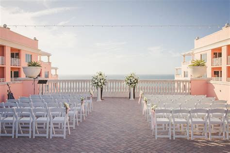 Elegant Blush Pink & Gold Rooftop Wedding   Hyatt
