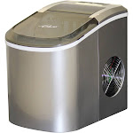 Glaros Premium 26 lb. Daily Production Portable Ice Maker IM2-P