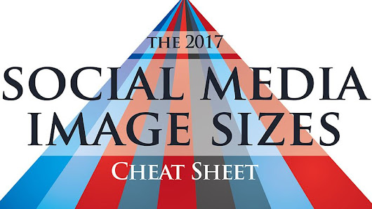 Create perfect social media images with this handy cheat sheet
